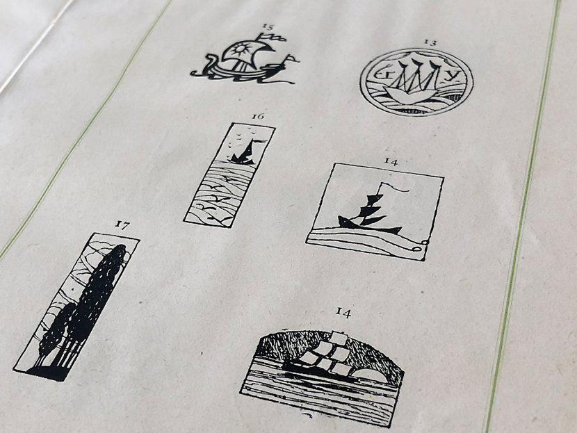 からふね屋1927年営業のしおり挿絵イメージ