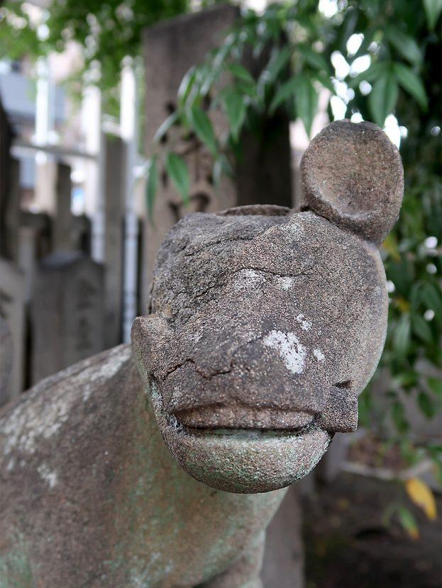 満足稲荷神社 コン吉