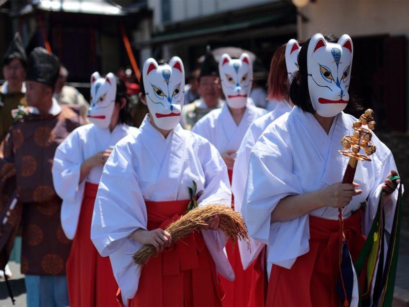 満足稲荷神社 神幸祭行列