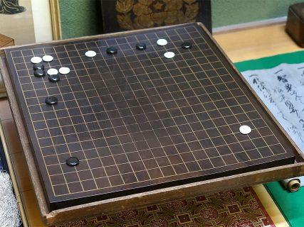 寂光寺 算砂日海上人愛用の碁盤