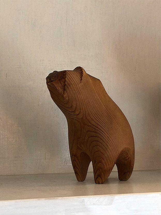 Soil フィンランドで買い付けた熊の置物