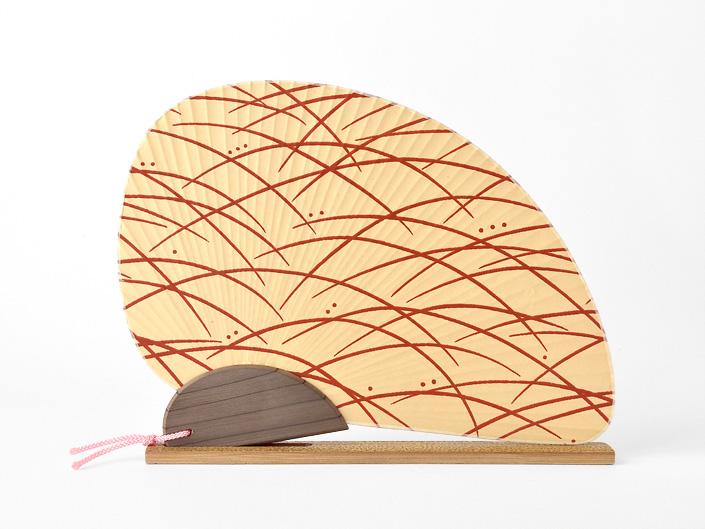 唐船屋オリジナル団扇「露草」