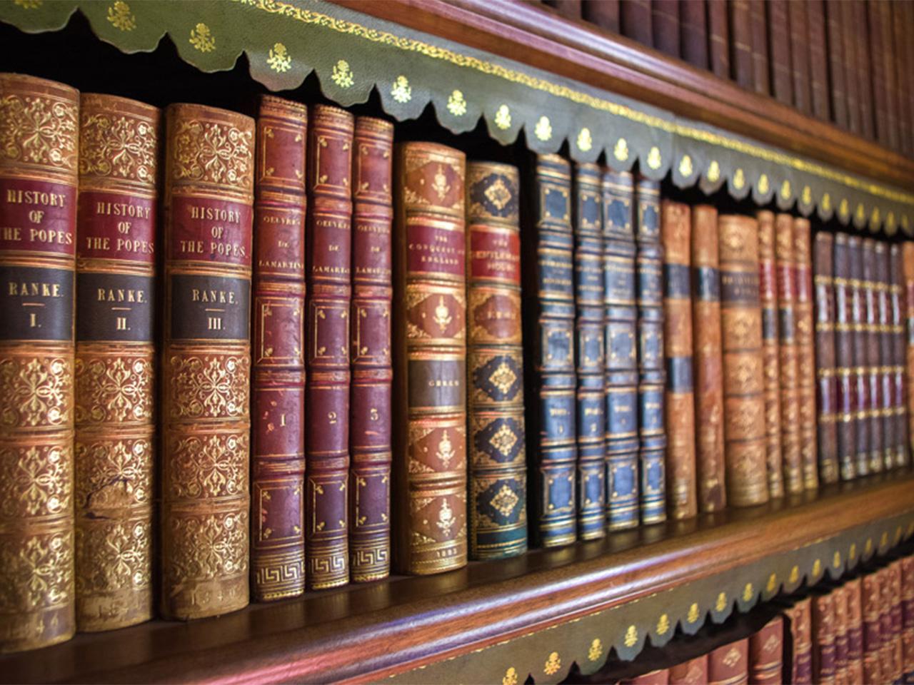 古い図書館イメージ