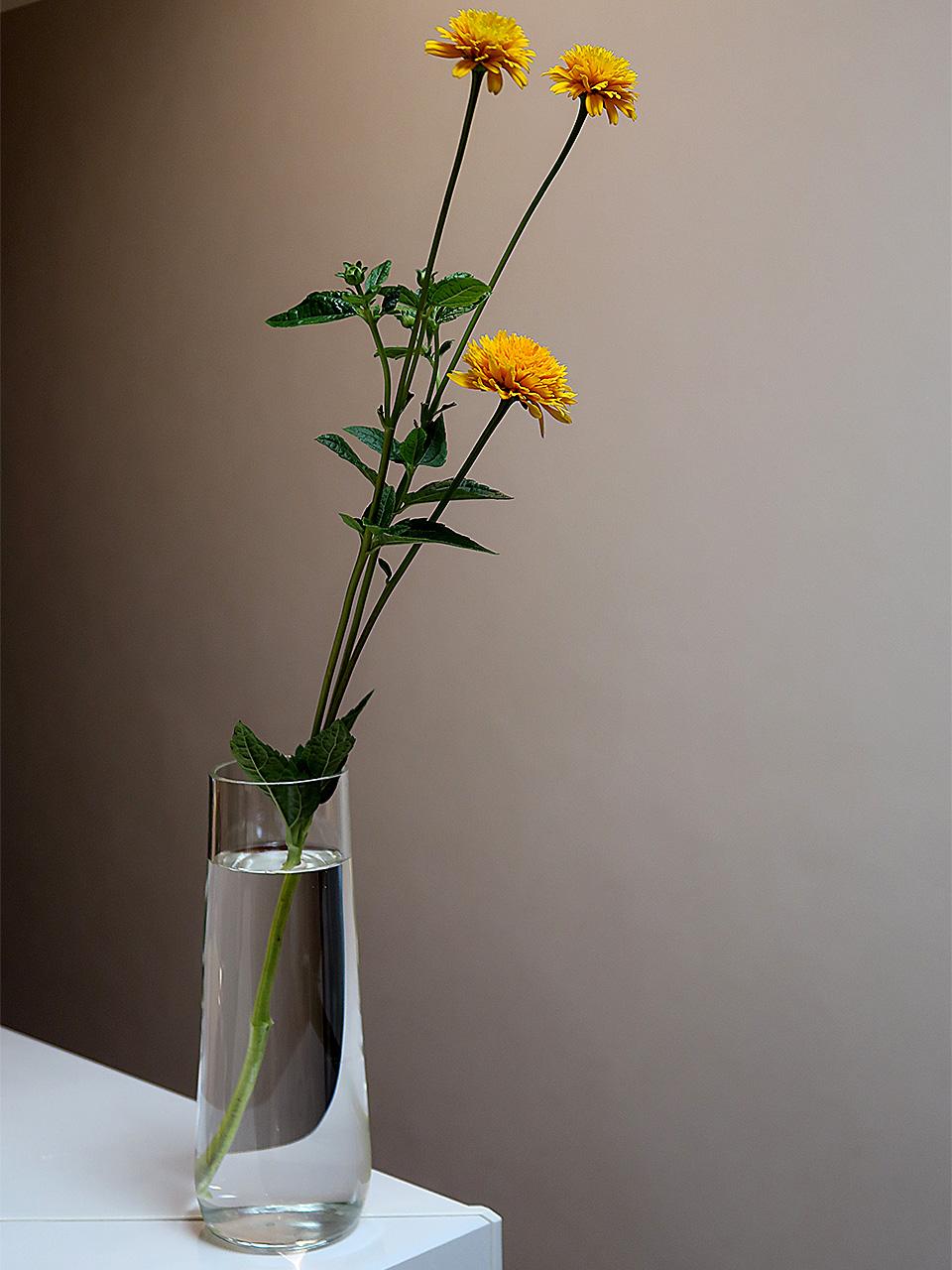 山口硝子製作所オーダーメイド花瓶