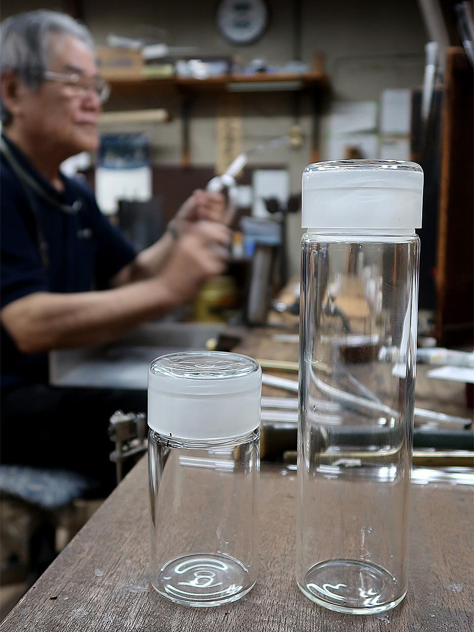 山口硝子製作所ガラス茶筒