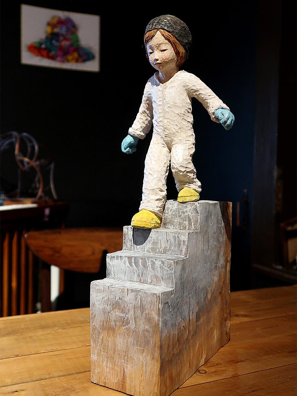 芦屋画廊kyoto 戸川五十生さんの彫刻作品