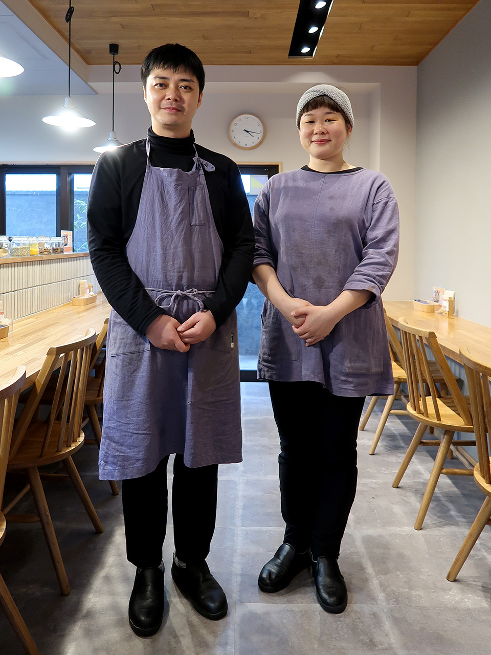 和とcurry しらべ 浜田さんと長谷川さん