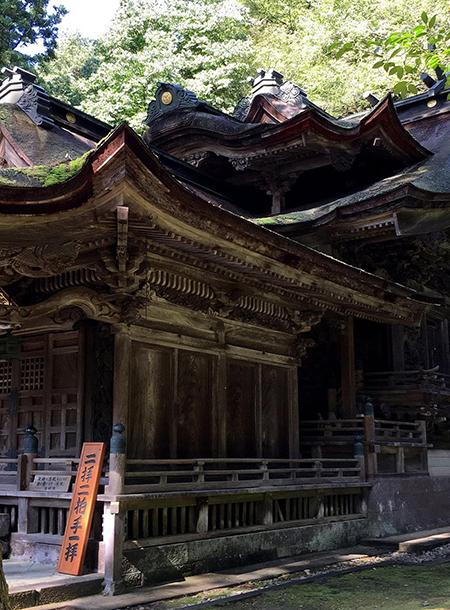 岡太神社・大瀧神社 本殿